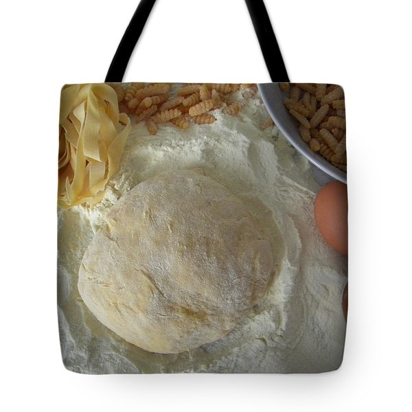 Homemade Pasta Tote Bag