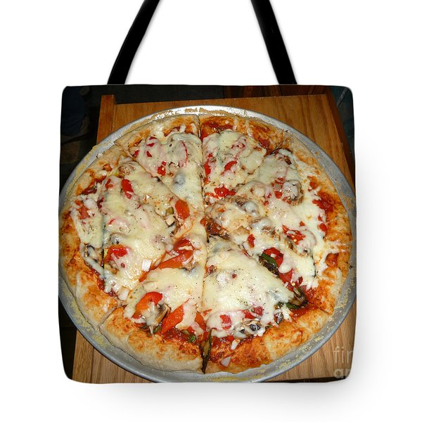 Homemade Pizza  Tote Bag