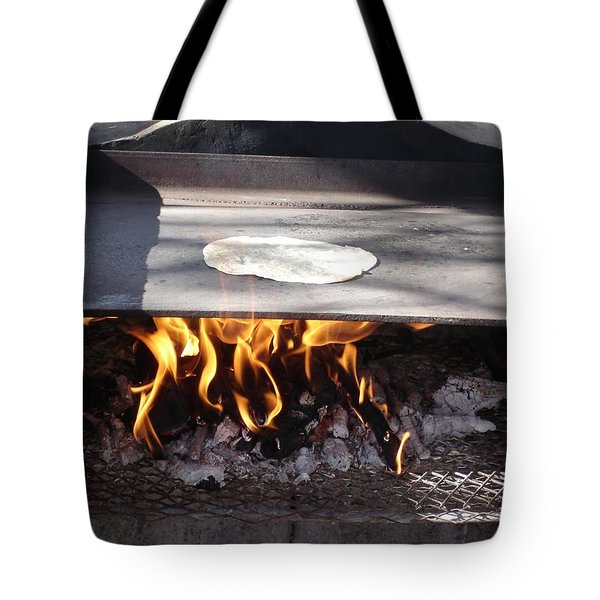 Tote Bag featuring the photograph Homemade Tortillas by Kerri Mortenson