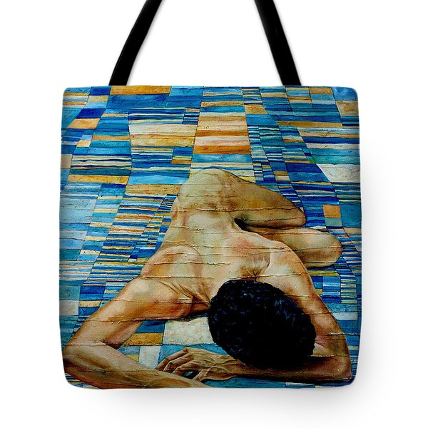 Homenaje A Paul Klee Tote Bag by Nancy Almazan