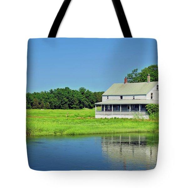 Homestead Tote Bag by Charles Dobbs