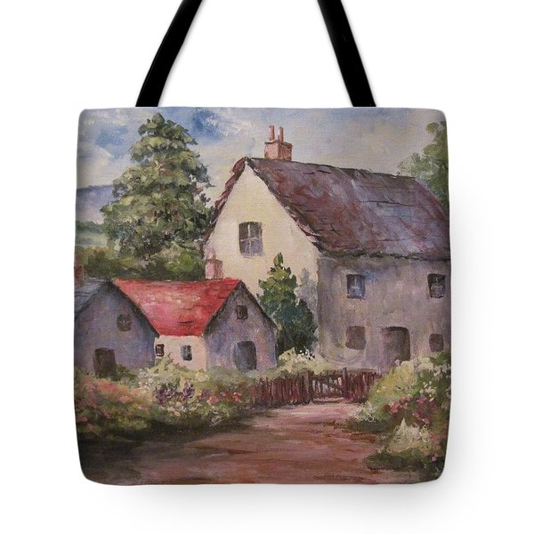 Homestead Tote Bag by Megan Walsh