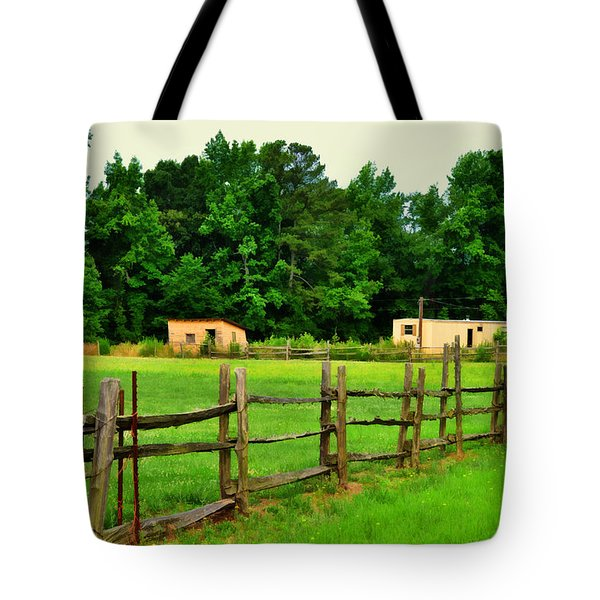 Homestead Tote Bag by Paulette B Wright