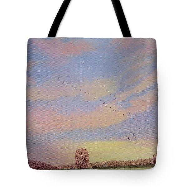 Homeward Tote Bag by Ann Brian