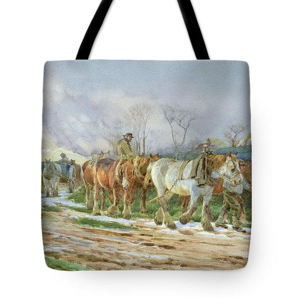 Homeward Bound Tote Bag by Charles James Adams