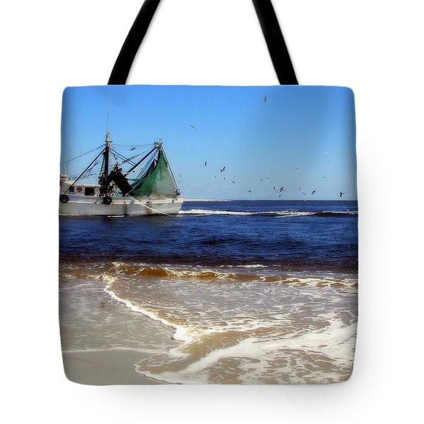 Homeward Bound Tote Bag by Karen Wiles