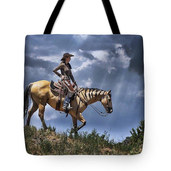 Homeward Bound Tote Bag by Priscilla Burgers