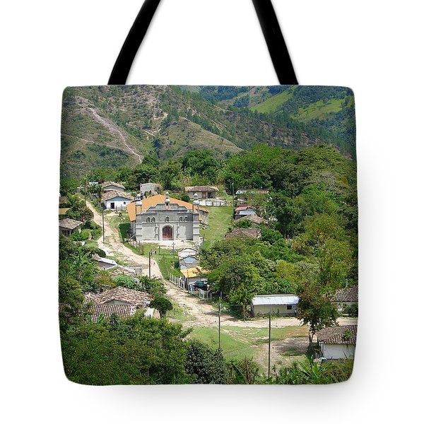 Honduras Mountain Village Tote Bag