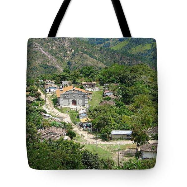 Honduras Mountain Village Tote Bag by Lew Davis
