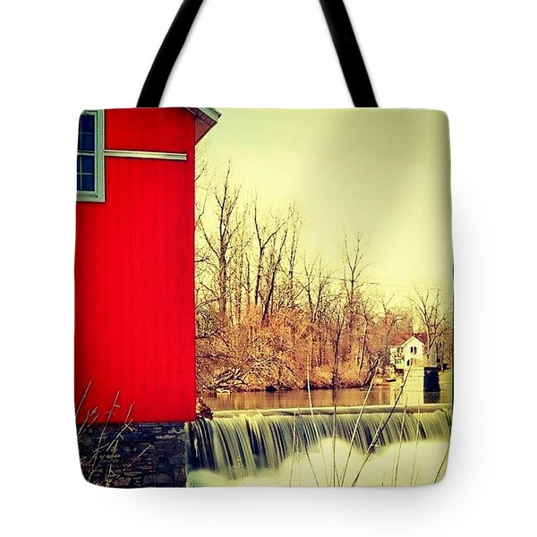 Honeoye Falls Barn  Tote Bag