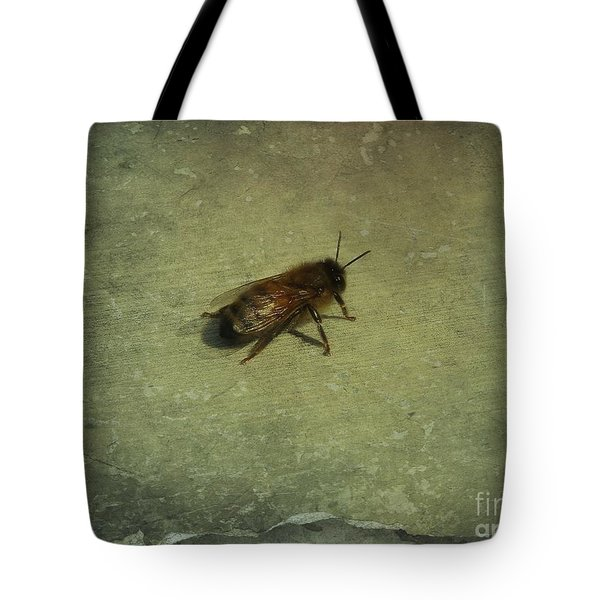 Tote Bag featuring the photograph Honey Bee by Kristine Nora