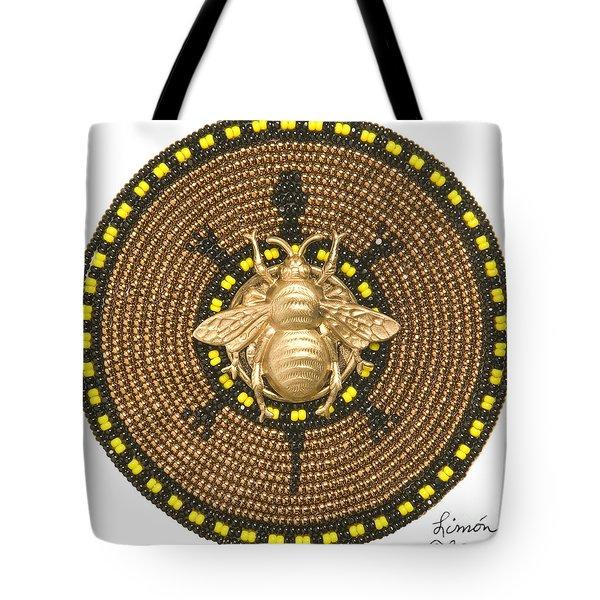 Honey Bee Turtle Tote Bag