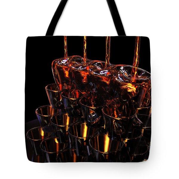 Honey Flow Tote Bag