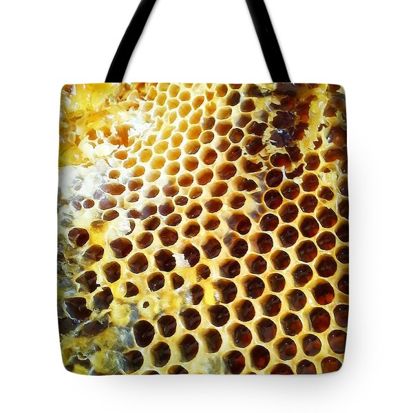 Tote Bag featuring the photograph Honey Honey by Kristine Nora