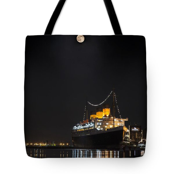 Honey Moon Reflects With The Queen By Denise Dube Tote Bag