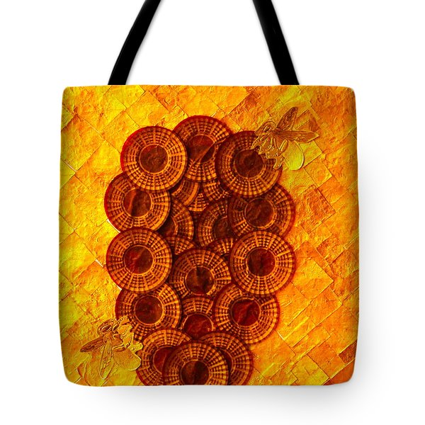 Honeybee 2 Tote Bag by Lorna Maza