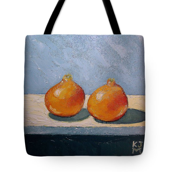 Honeybells - The Perfect Couple Tote Bag by Katherine Miller