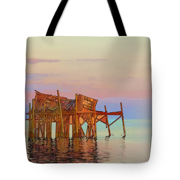 Honeymoon Cottage Tote Bag