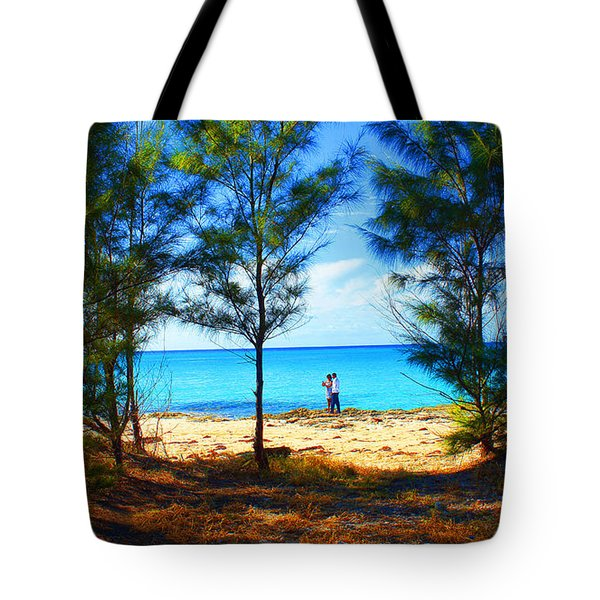 Honeymoon In The Bahamas Tote Bag