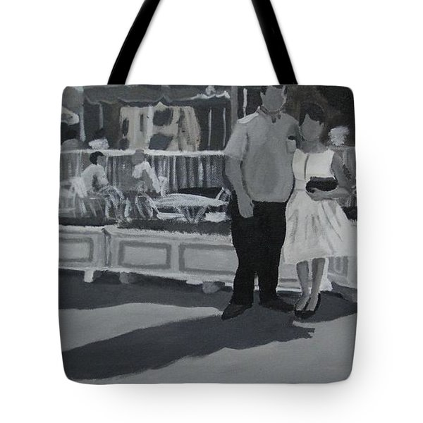 Honeymoon On Main St. Tote Bag