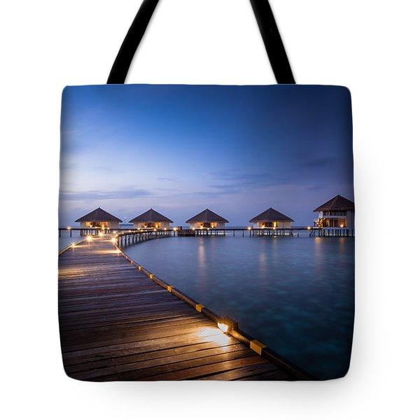 Honeymooners Paradise Tote Bag