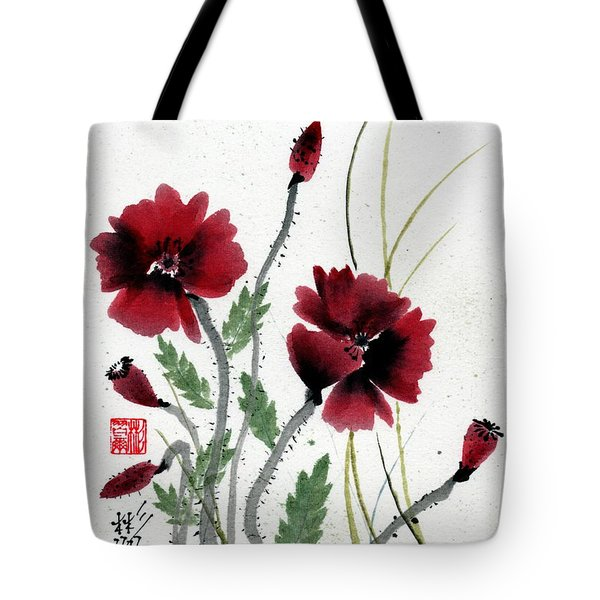 Tote Bag featuring the painting Honor by Bill Searle