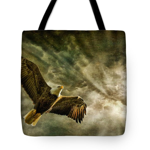Honor Bound In Blue Tote Bag