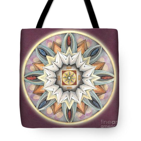 Honor Mandala Tote Bag