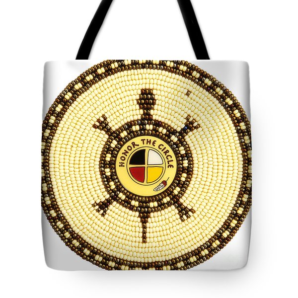 Honor The Circle Tote Bag