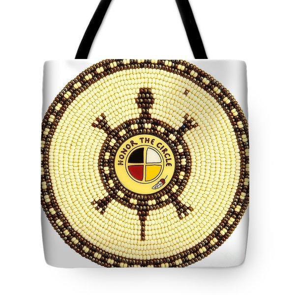 Honor The Circle Tote Bag