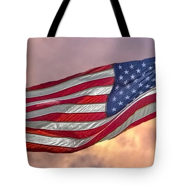 Tote Bag featuring the photograph Honoring The Heroes  by Charlotte Schafer