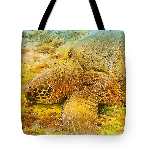 Honu  Sea Turtle Tote Bag