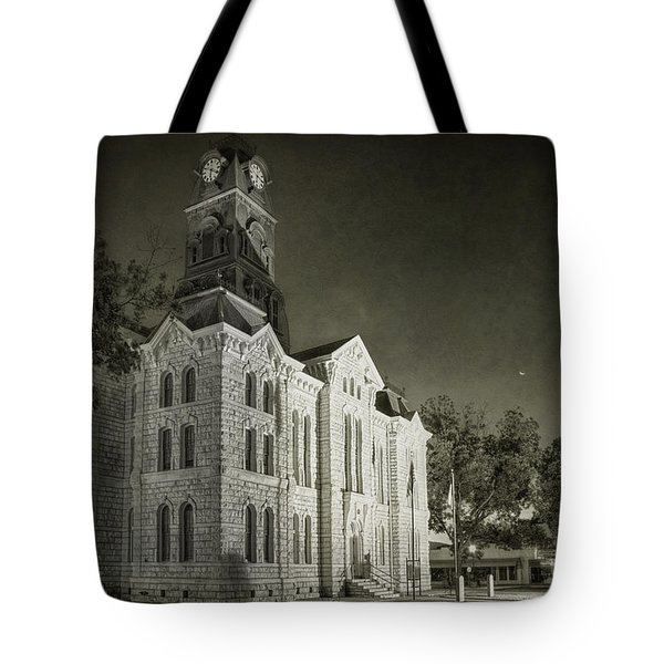 Hood County Courthouse Tote Bag