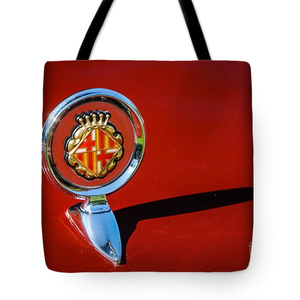 Hood Ornament On Matador Barcelona II Coupe Tote Bag