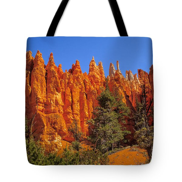 Hoodoos Along The Trail Tote Bag