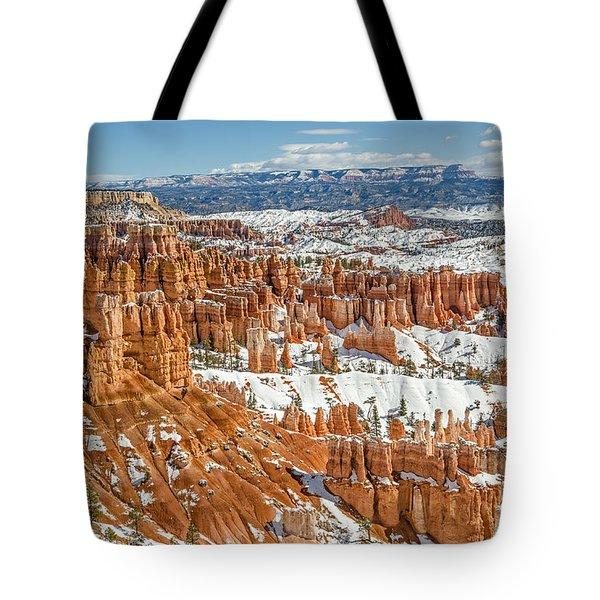 Hoodoos At Sunset Point Tote Bag