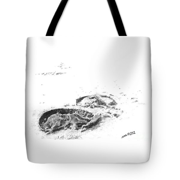 Hoof Prints Tote Bag