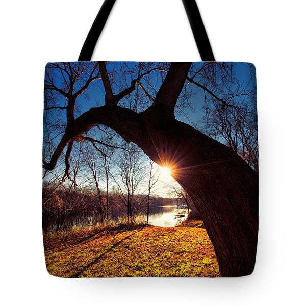 Tote Bag featuring the photograph Hook Or Crook by Robert McCubbin