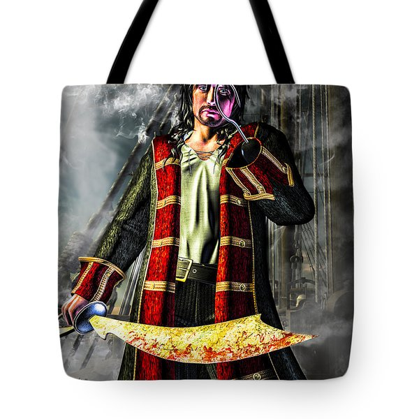 Hook Pirate Extraordinaire Tote Bag by Bob Orsillo