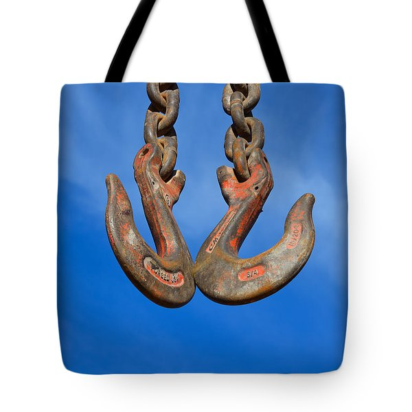 Hooked - Photography By William Patrick And Sharon Cummings Tote Bag by Sharon Cummings