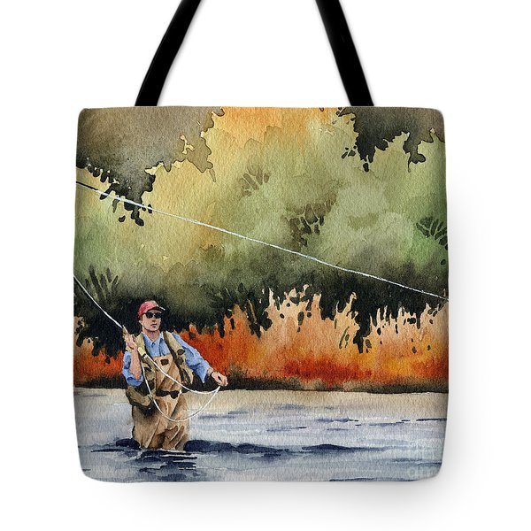 Hooked Up Tote Bag