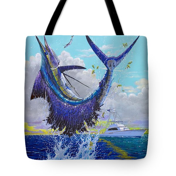 Hooked Up Off004 Tote Bag by Carey Chen