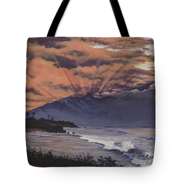 Hookipa Sunset Tote Bag