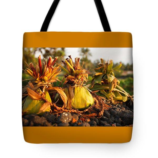 Hookupu At Sunset Tote Bag