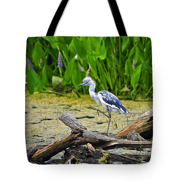 Hooligan Heron Tote Bag by Al Powell Photography USA