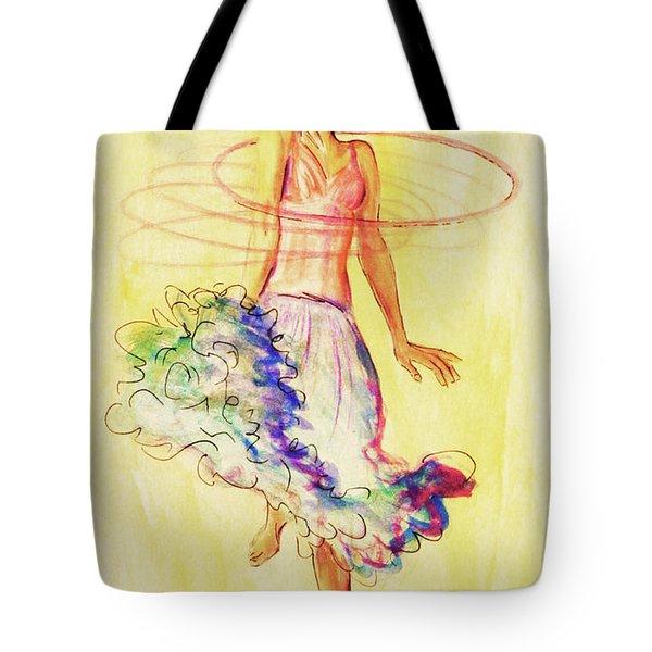 Hoop Dance Tote Bag