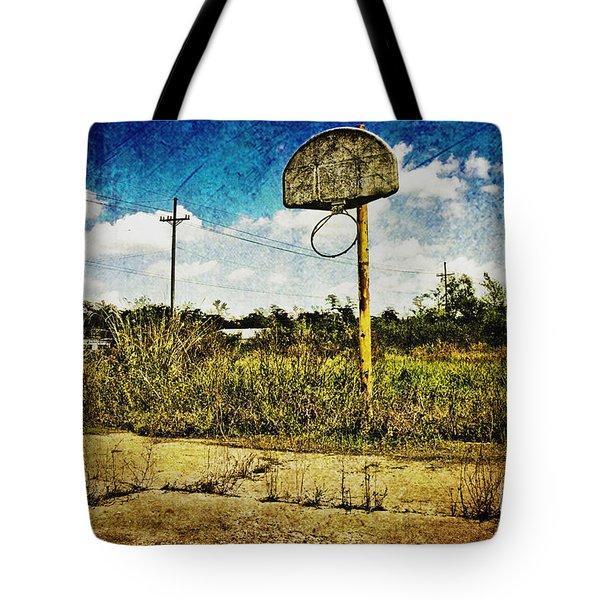 Hoop Dreams Tote Bag by Scott Pellegrin