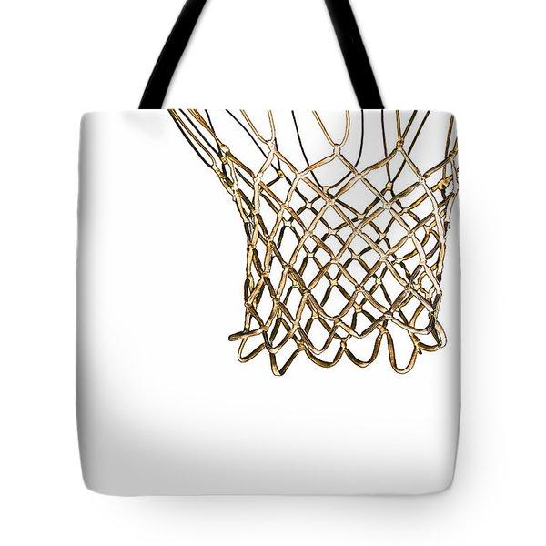 Hoops Anyone Tote Bag by Karol Livote