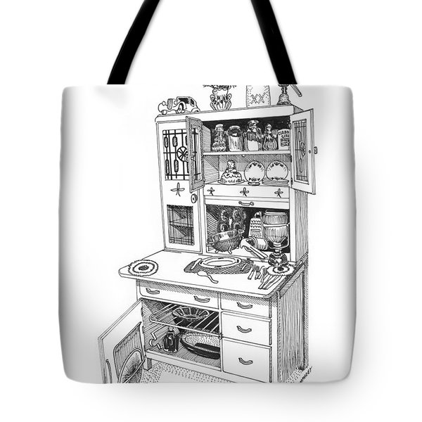 Hoosier Kitchen Tote Bag by Jack Pumphrey