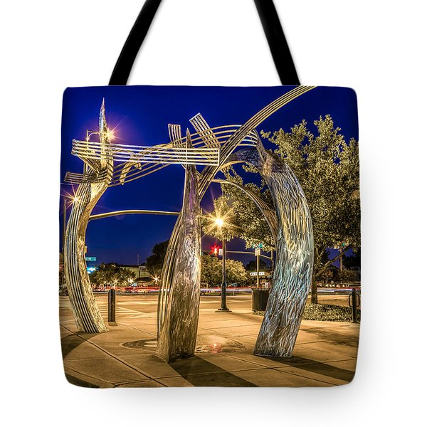 Hootie And The Blowfish Tote Bag by Rob Sellers